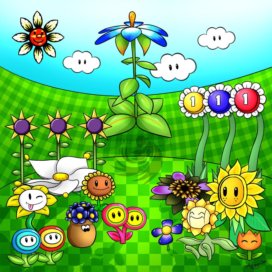 Videogame Garden by Aticum