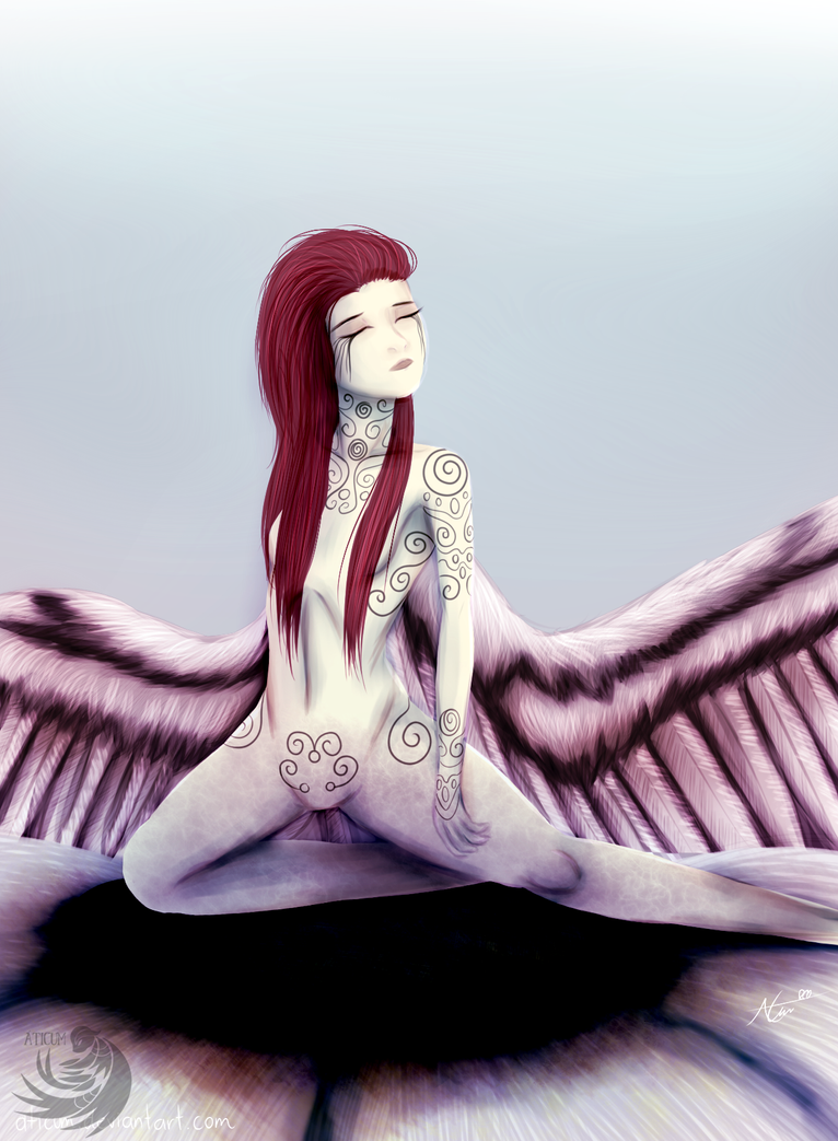 Tahira - Angel of Pain and Purity by Aticum