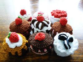 Nine Cakes by nuniko