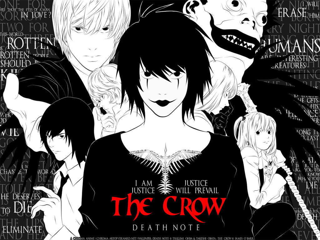 The Crow: Death Note by nuniko