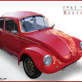 1961 VW Beetle by luckyde