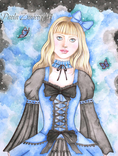 Gothic Lolita by PaolaZunico