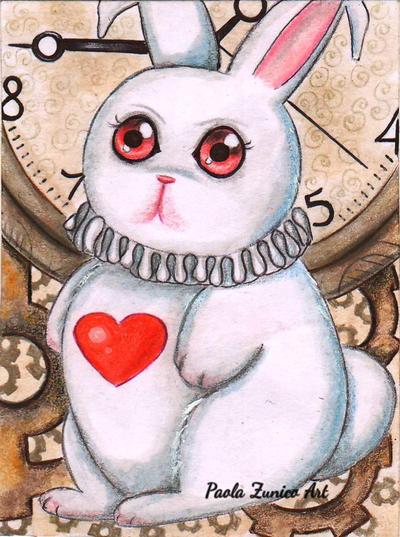 Wonderland Rabbit by PaolaZunico