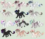 Feline Adoptables: Prices lowered!