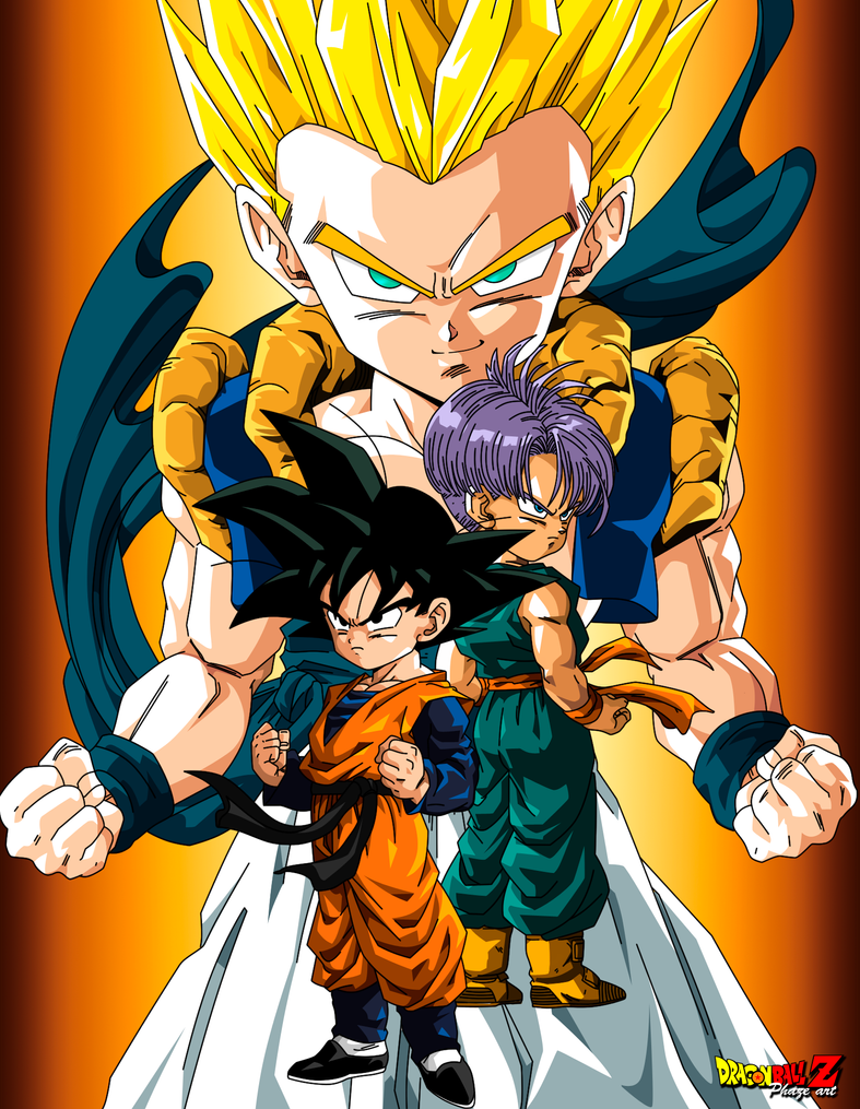 GOTENKS By PhazeN1 On DeviantArt