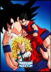 Gohan,gotenks And Goku