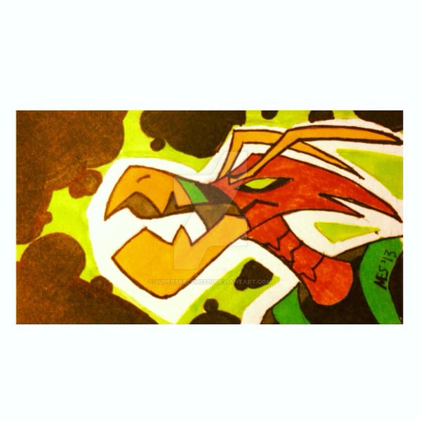 Astrodactyl Sketchcard by Supersketch1220