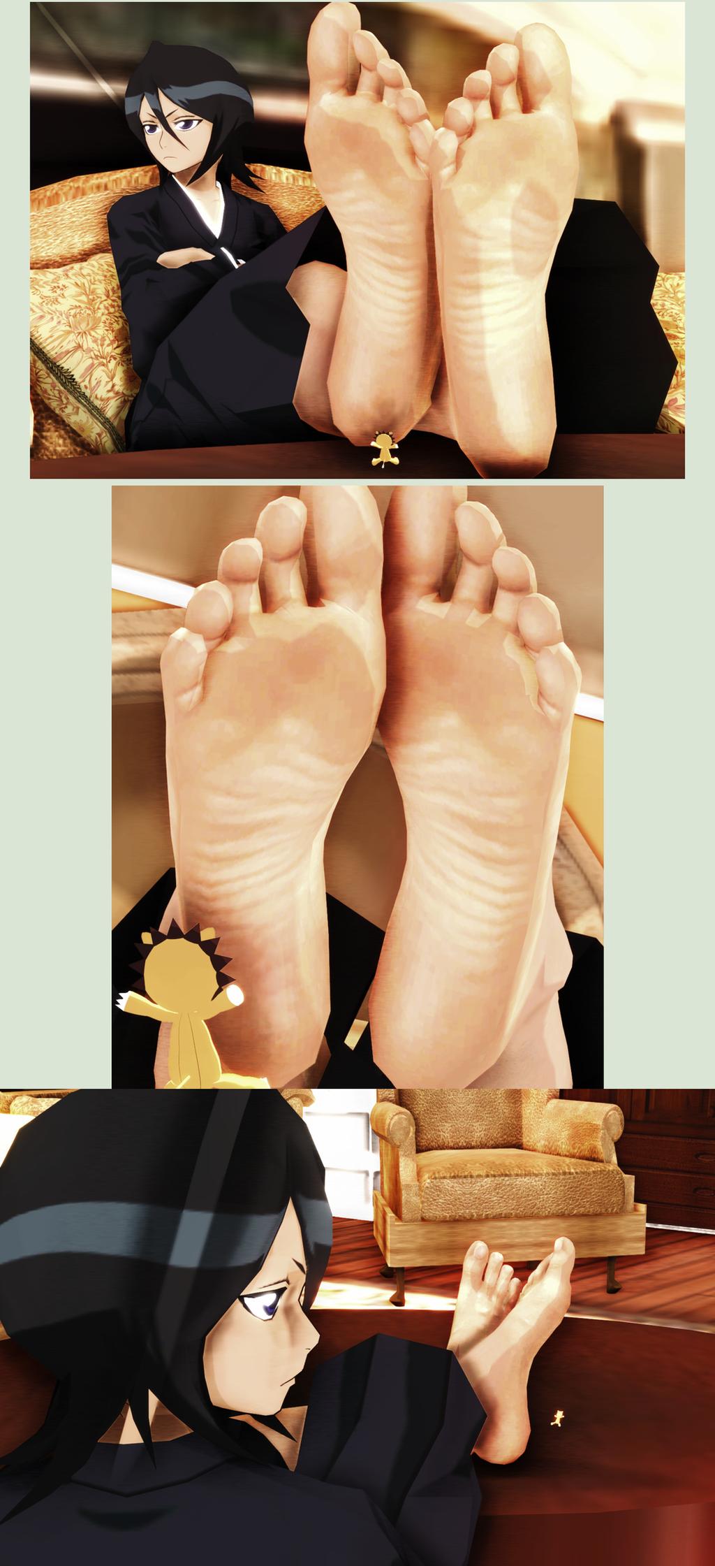 Can proudly bleach hentai feet çok güzel