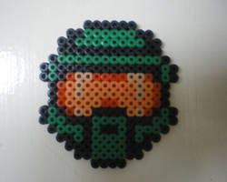 Master Chief bead by CmOrigins