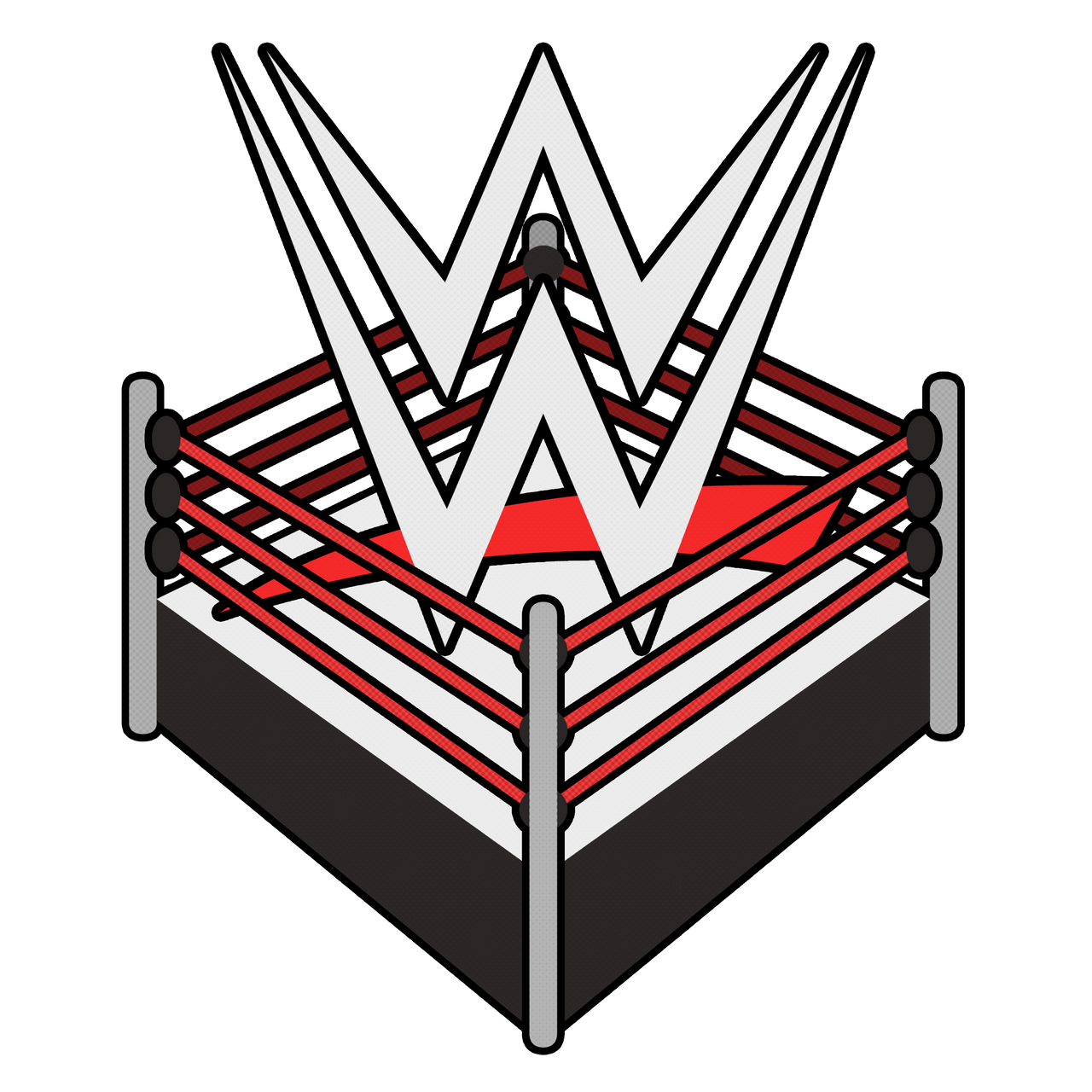 wwe ring logo by cmorigins