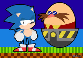 Sonic And The EGGman by CmOrigins