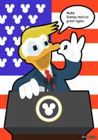 'Donald' Trump by CmOrigins