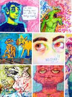 sketchbook compilation by actualdog