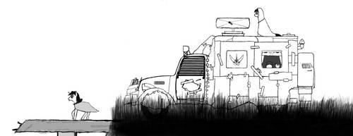 [Sketch/WIP] Overpass Overlook by TwilightIsMagic