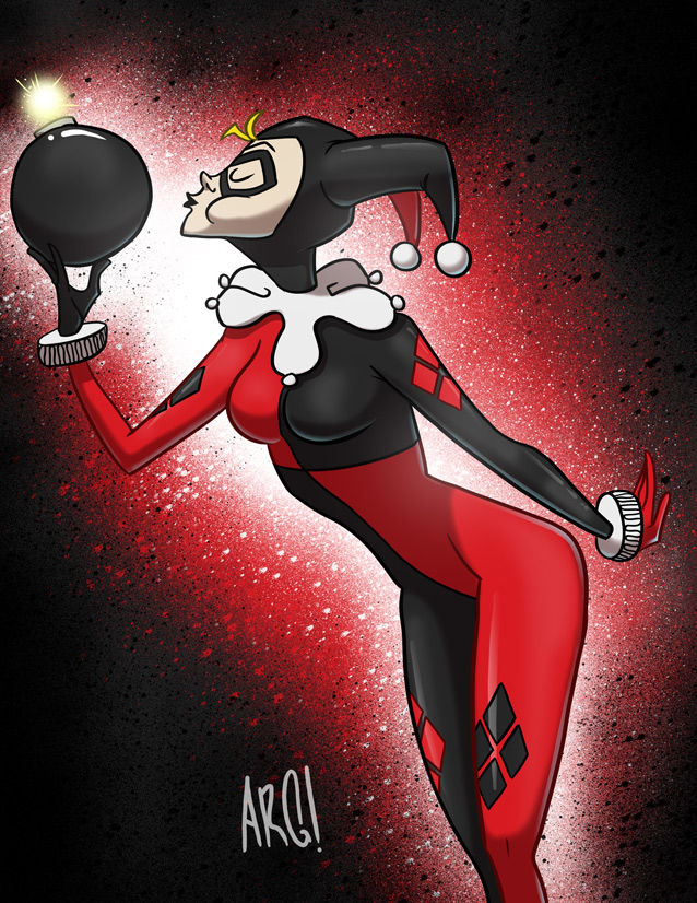 Harley Quinn by IAMARG