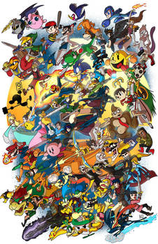 Super Smash Bros!