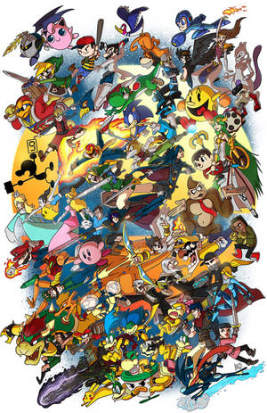 Super Smash Bros!