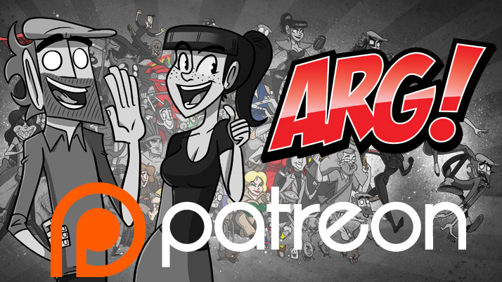 ARG on Patreon! by IAMARG