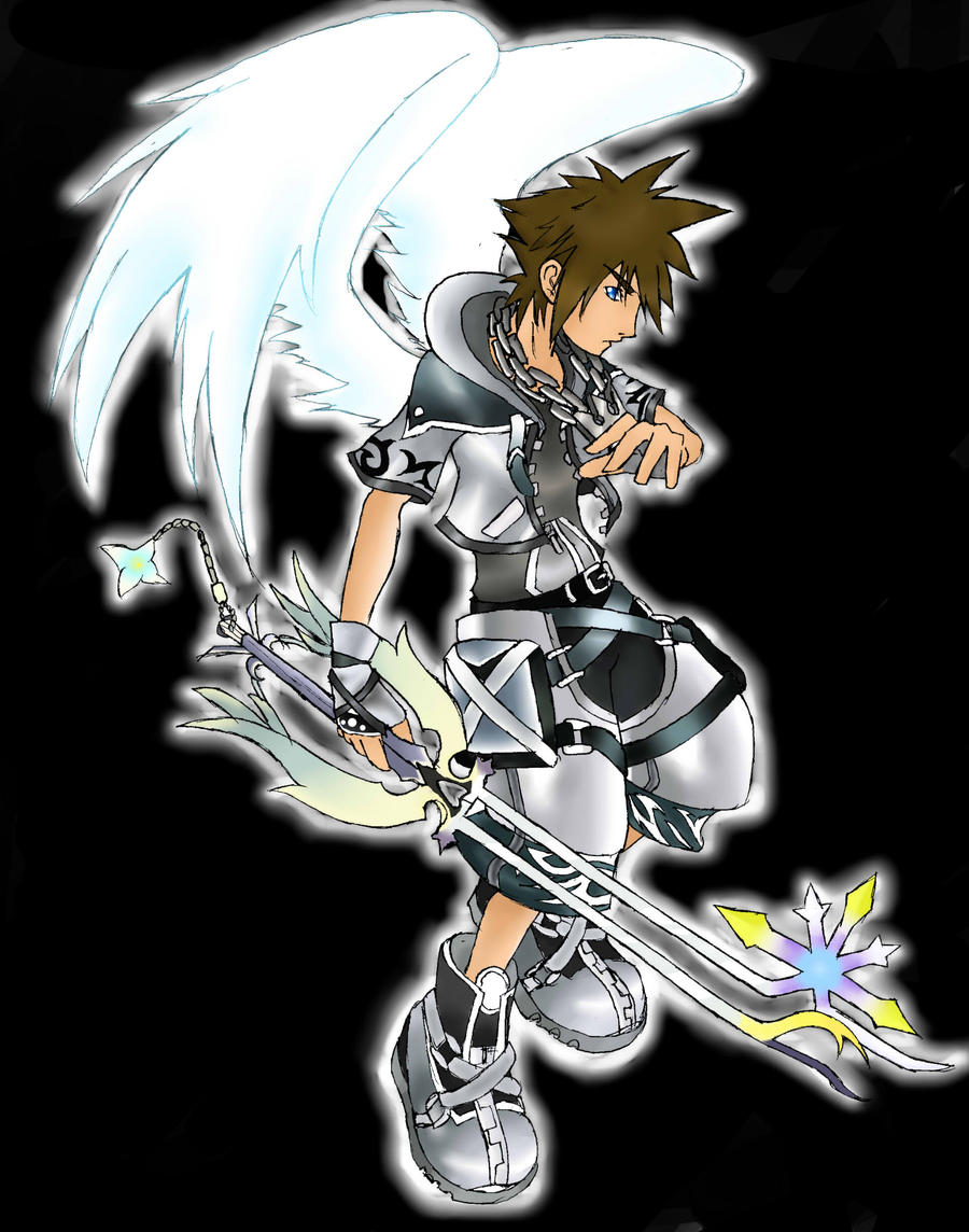 Winged final form sora by silvahedgehog1013 on DeviantArt