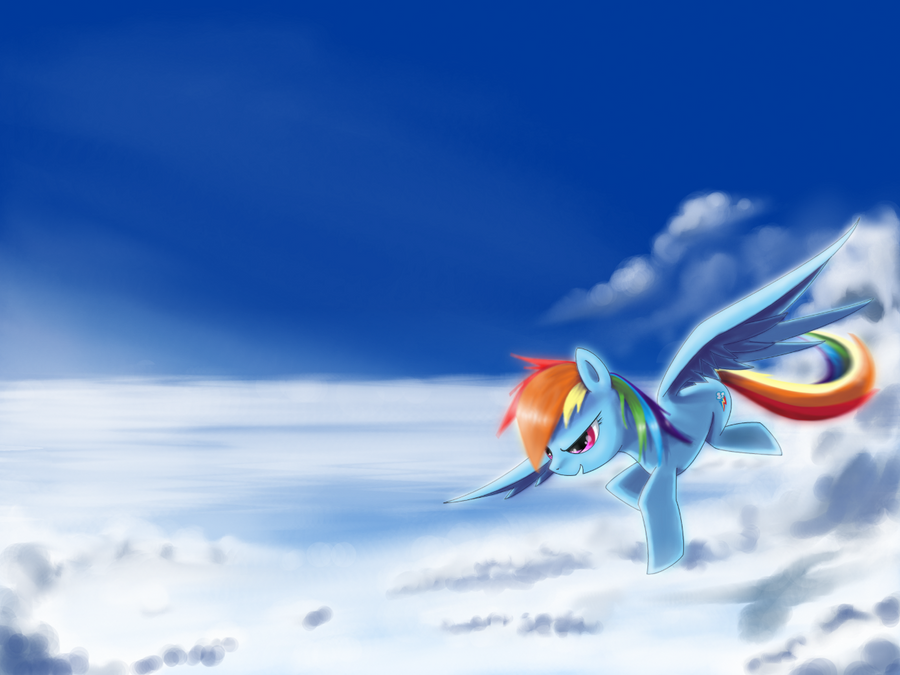Soaring above the sky by ZymonasYH