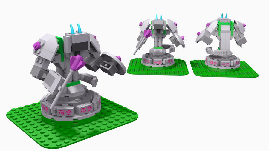 League of Lego - Purple Turret by Adddam on DeviantArt