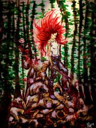 Aureylian versus The Forest by DancingFlyQueen