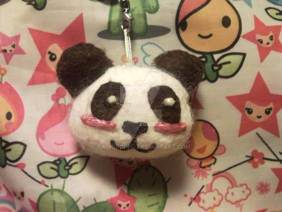 Cute Panda Plushie by Raindroppu