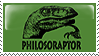 Philosoraptor by stamps-of-yore