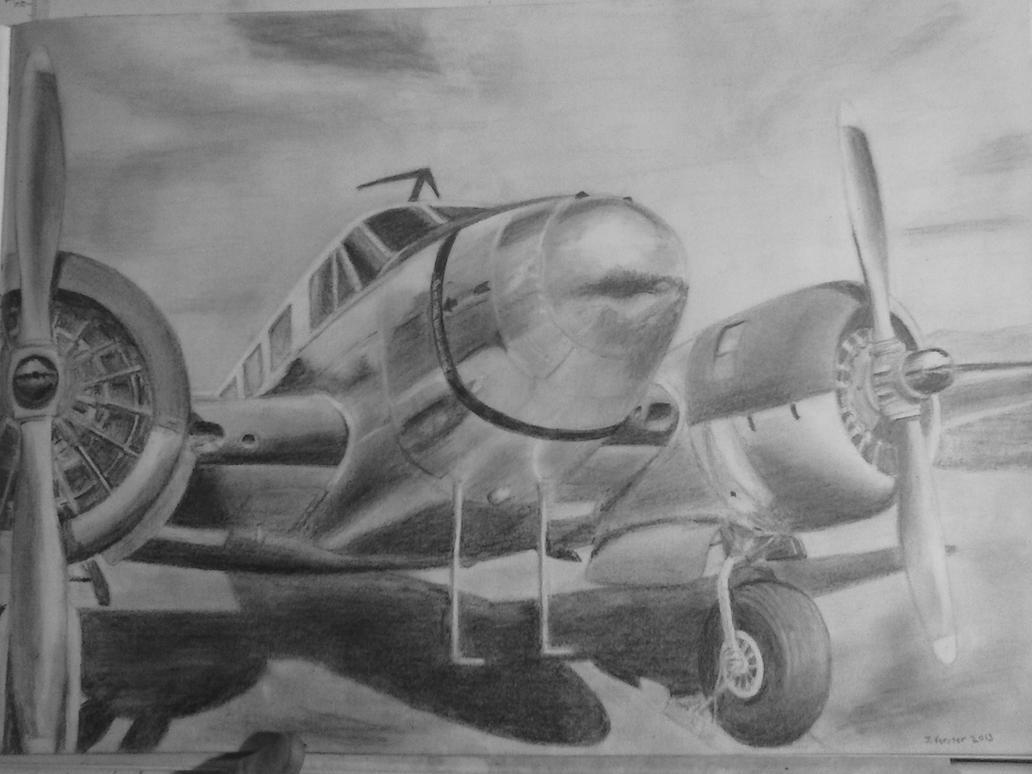 Beechcraft 18 by Rooivalk1