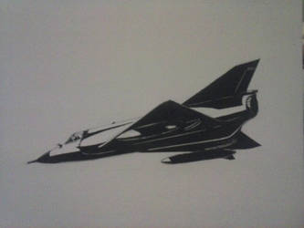 Mirage III Ink Drawing [III]