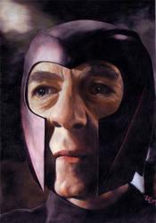 Ian McKellen as Magneto by McInchakArt