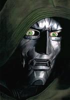 Julian McMahon as Doctor Doom by McInchakArt