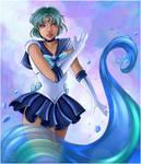 Sailor Mercury Water