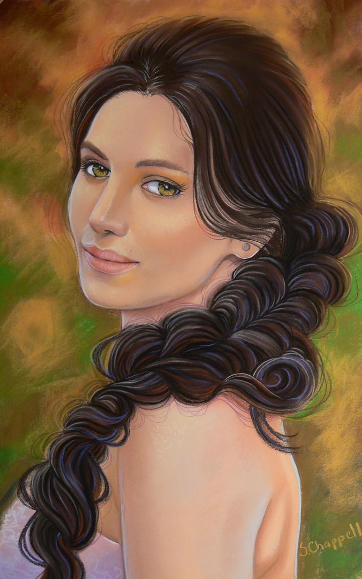 Mahafsoun Portrait by SChappell