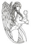 Hawkgirl Inks