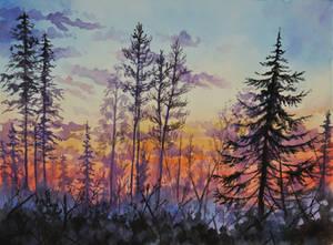 Winter Blaze by SChappell