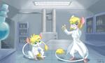 Commission: Lab Mice