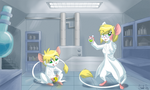 Commission: Lab Mice
