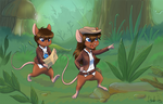 Commission: Adventure Mice