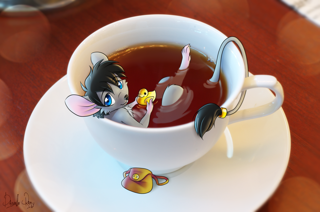 Waiter, There's A Mouse In My Tea by Devoid-Kiss