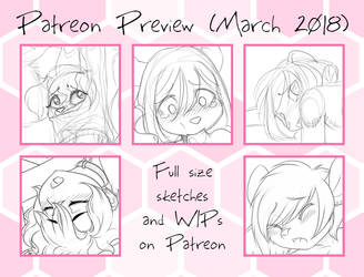 Patreon Preview March 2018 by Devoid-Kiss