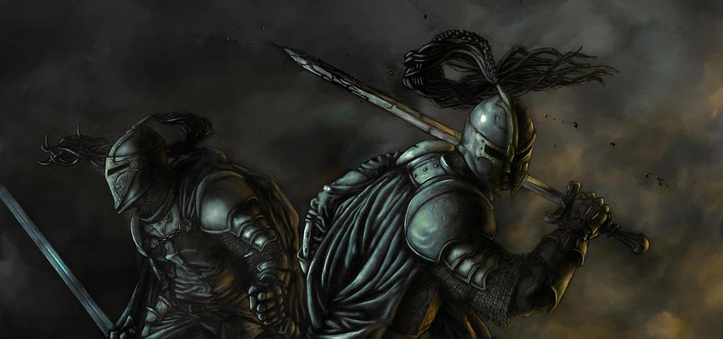 Knights of Maerador, Colored by sebadorn