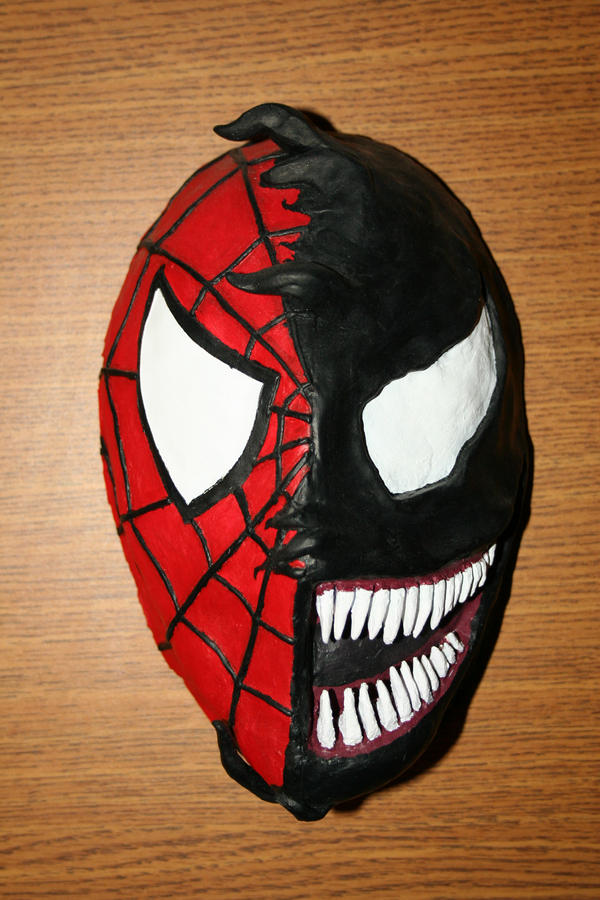 Spider man paintball mask