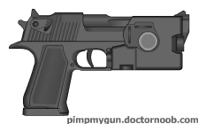 N88 10mm Pistol by MegaBLYSTONE