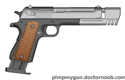 M1911A4 by MegaBLYSTONE