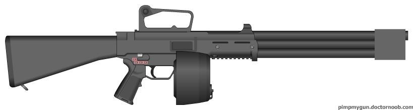 M1 Gatling Rifle by MegaBLYSTONE