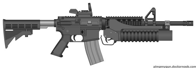 Assault Carbine by MegaBLYSTONE