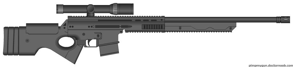 M6A7 Semi-Auto .50 by MegaBLYSTONE