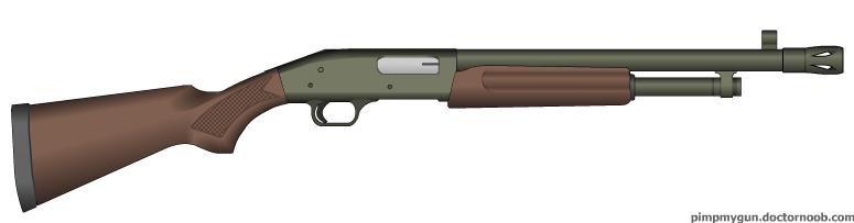 Xetronuvian Combat Shotgun by MegaBLYSTONE