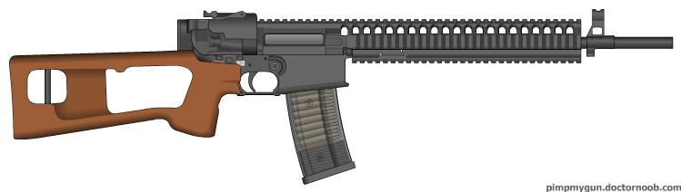 Kalashnikov AK599 by MegaBLYSTONE